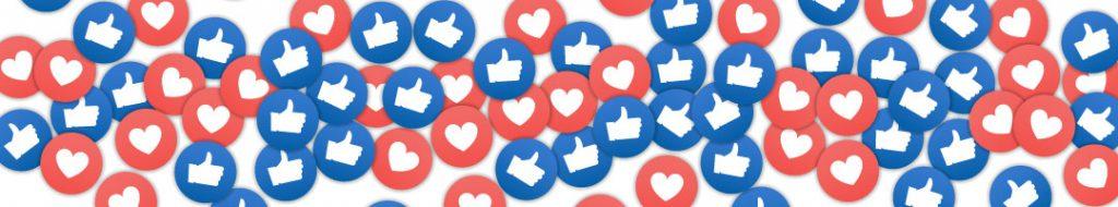 like and love emojis